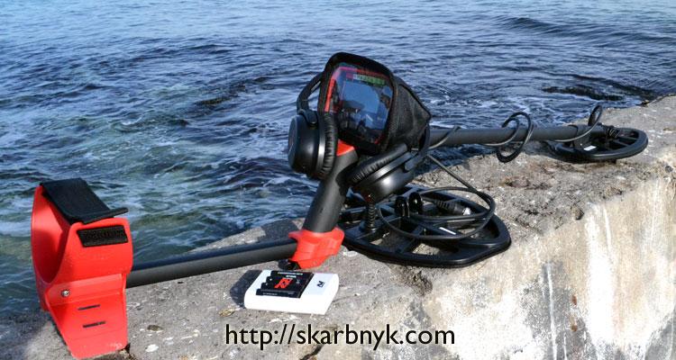 Minelab Vanquish 540 Pro на пляже Одесса
